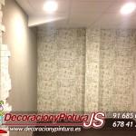 oficina alcorcon papel pintado